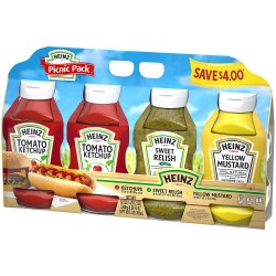 Heinz Condiments Picnic Pack