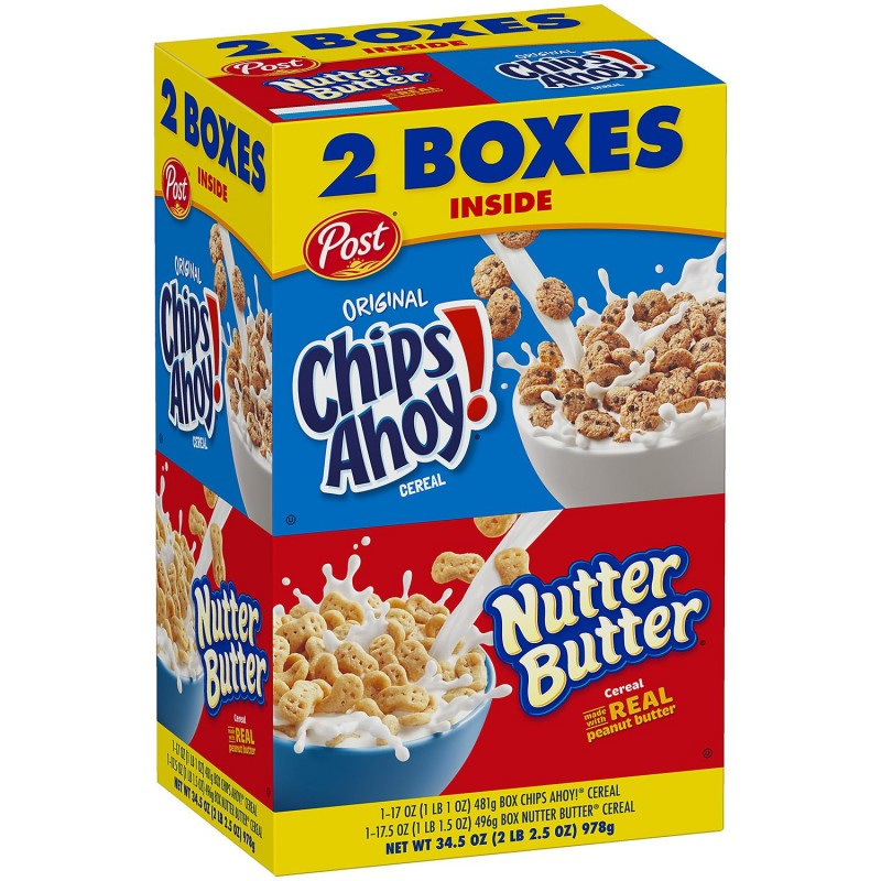 Post Chips Ahoy And Nutter Butter Variety Pack (34.5 Oz